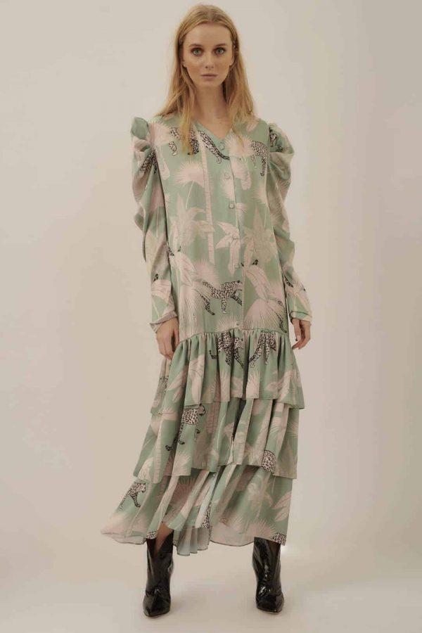 Vestido Botones Bolero _ Button Bolero Dress