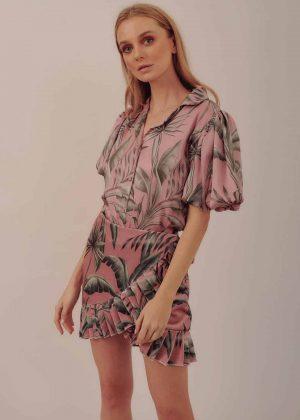 Falda Cruzada Corta _ Short Crossed Skirt