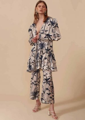 Kimono Corto - Pantalón Clásico__Short Kimono - Classic Pant 1