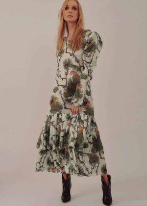 Vestido Largo Plisado _ Long Pleaded Dress